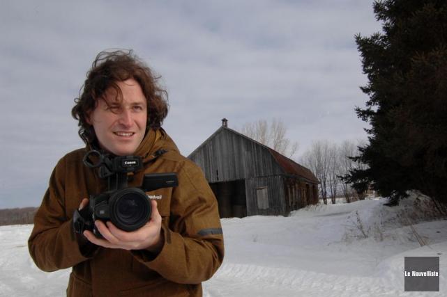 Avec son film Suivre la piste du renard,... (Photo: Sylvain Mayer, Le Nouvelliste)