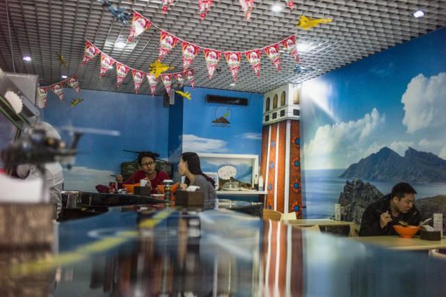 Pékin dispute à Tokyo la souveraineté sur les... (Photo FRED DUFOUR, AFP)