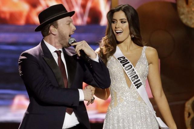 Le triomphe de Paulina Vega, sacrée dimanche Miss... (Photo Wilfredo Lee, AP)
