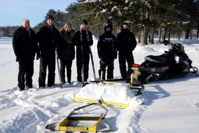 De nouvelles pistes de ski de fond seront bientôt accessibles dans la région de... (Courtoisie)