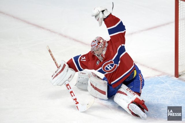 Carey Price sera devant la cage du Canadien... (Photo archives La Presse)