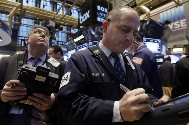 «Plusieurs entreprises, dont Caterpillar, DuPont et Microsoft, ont... (PHOTO RICHARD DREW, AP)
