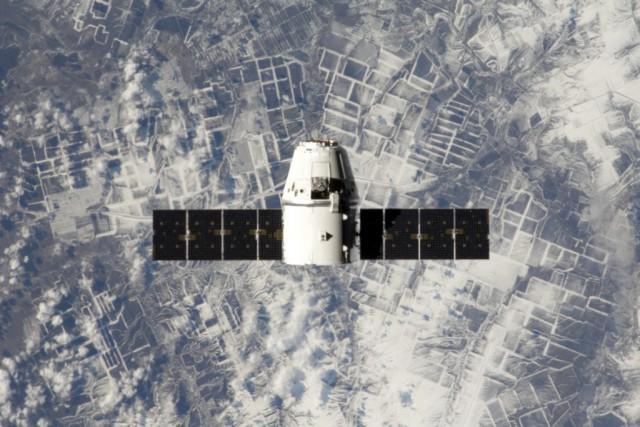 Dragon est la seule capsule spatiale au monde... (PHOTO ARCHIVES ASSOCIATED PRESS/NASA)