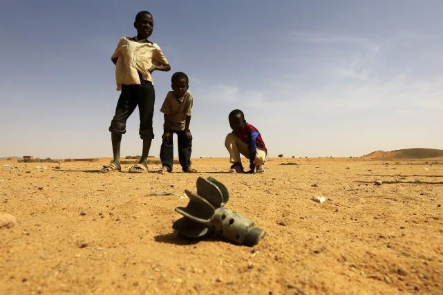 Le reste des 3000 enfants à démobiliser devraient... (PHOTO MOHAMED NURELDIN ABDALLAH, ARCHIVES REUTERS)