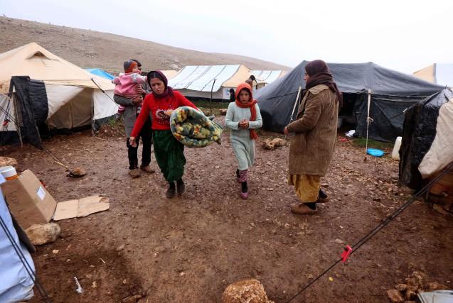 Un grand nombre de familles n'ont pas réussi... (PHOTO SAFIN HAMED, ARCHIVES AFP)