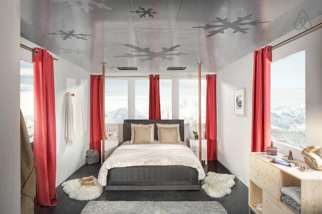 À Courchevel, quatre «voyageurs» seront invités à passer... (Photo tirée du site Airbnb)