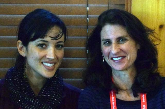 Jill Bauer et Ronna Gradus, deux anciennes journaliste... (PHOTO MICHAEL THURSTON, AFP)