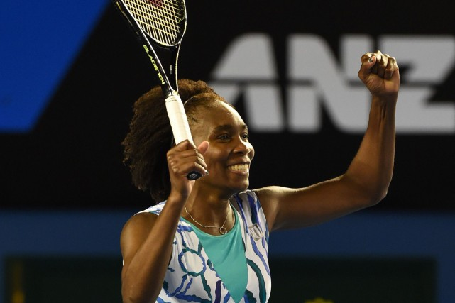 Venus Williams... (PHOTO WILLIAM WEST, AFP)