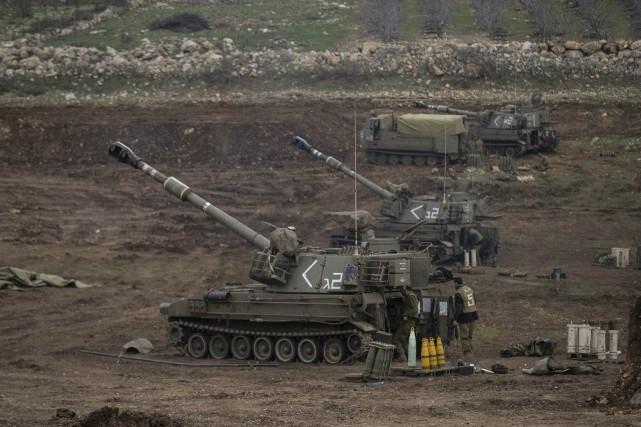 La partie du Golan occupée par Israël est... (PHOTO BAZ RATNER, REUTERS)