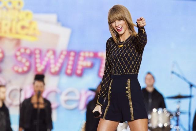 La chanteuse Taylor Swift s'est moquée mardi du pirate qui a brièvement pris... (PHOTO LUCAS JACKSON, ARCHIVES REUTERS)