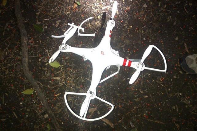 Le pilote du drone qui s'est écrasé à... (Photo: AP)