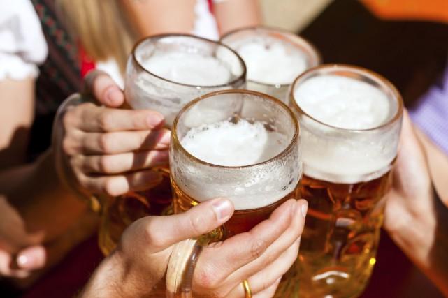 L'alcool coulait à un point tel que certains... (Courtoisie)