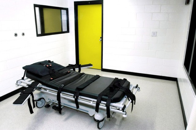 La chambre de la mort dans lepénitencier de... (Photo: AP)