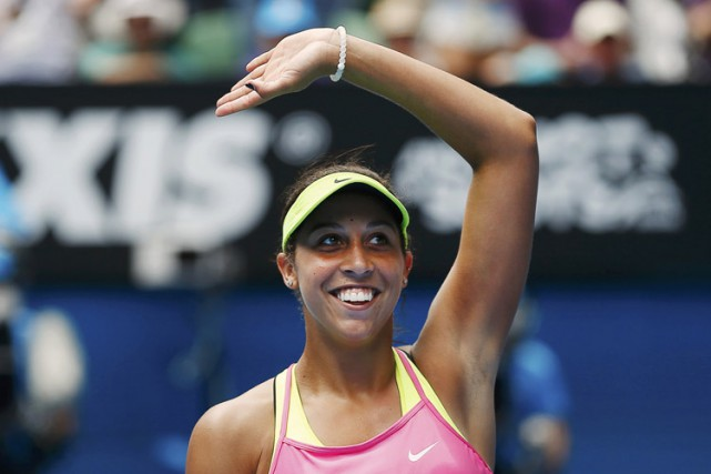 Madison Keys... (Photo: Reuters)