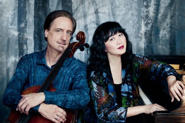 David Finckel etWu Han sont les directeurs artistiques... (Photo Lisa-Marie Mazzucco)