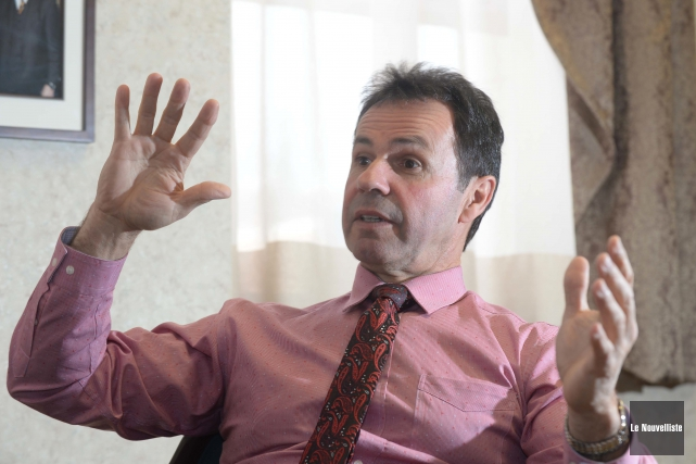 Le maire de Shawinigan, Michel Angers, promet que... (Photo: Sylvain Mayer Le Nouvelliste)
