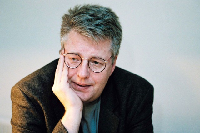 Stieg Larsson, en 2004.... (Photo Archives Bloomberg)