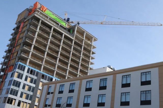 La chaîne d'hôtels internationale Hyatt annonce la construction d'un nouvel... (Patrick Woodbury, LeDroit)