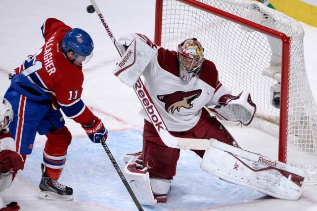 Suivez le clavardage du match entre les Coyotes de Phoenix et le Canadien avec... (PHOTO Eric Bolte-USA TODAY Sports)