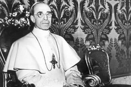 Le pape Pie XII, en septembre 1947.... (Photo Archives AP)