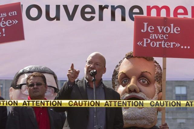 Le porte-parole de la Coalition syndicale pour la... (PHOTO CLÉMENT ALLARD, ARCHIVES LA PRESSE CANADIENNE)