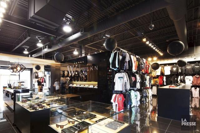 Une vue du magasin W-WLKN du Quartier DIX30... (Photo fournie par W-WLKN)