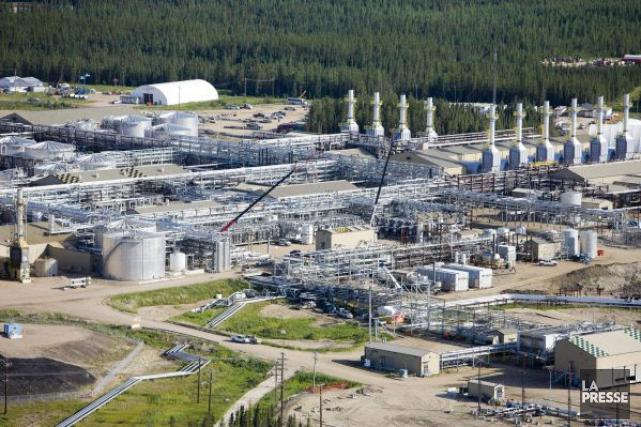 Des installations du producteur pétrolier spécialisé dans les... (Photo archives La Presse Canadienne)