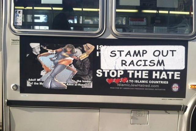 Kamla Khan s'attaque dorénavant aux publicités antimusulmanes qui... (PHOTO STREET CRED/FACEBOOK)
