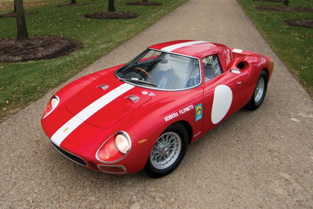 Ferrari 250 LM 1964... (PHOTO FOURNIE PAR RM AUCTIONS)