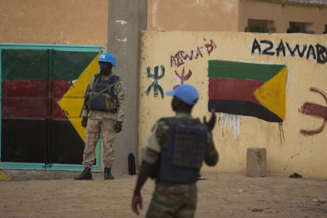 La Mission de l'ONU au Malia été contrainte... (Archives AP)