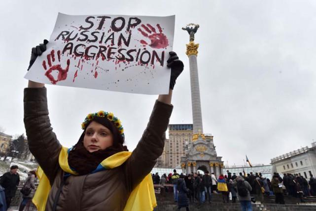 Le Kremlin est accusé par les Ukrainiens et... (Photo: AFP)