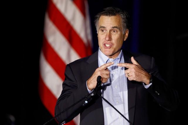 Mitt Romney... (Photo: Reuters)