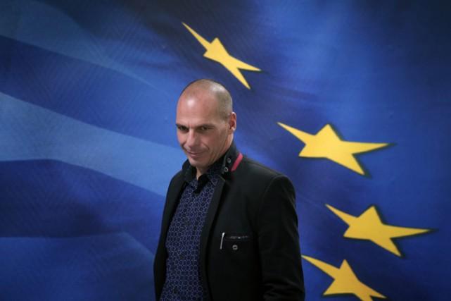 Le nouveau ministre des Finances grec Yanis Varoufakis... (Photo: AP)