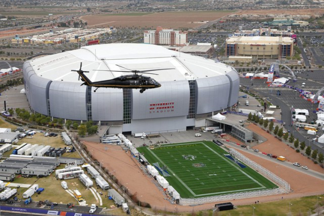 La NFL a loué les services de 4000... (Photo: AP)