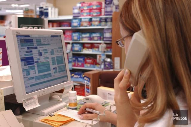Au lieu que les pharmacies reçoivent des honoraires... (Photothèque La Presse)