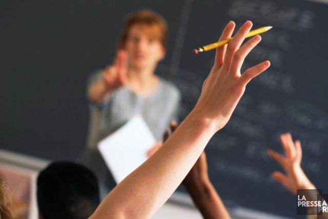 On compte plus de 105 000 élèves francophones... (Photothèque La Presse)