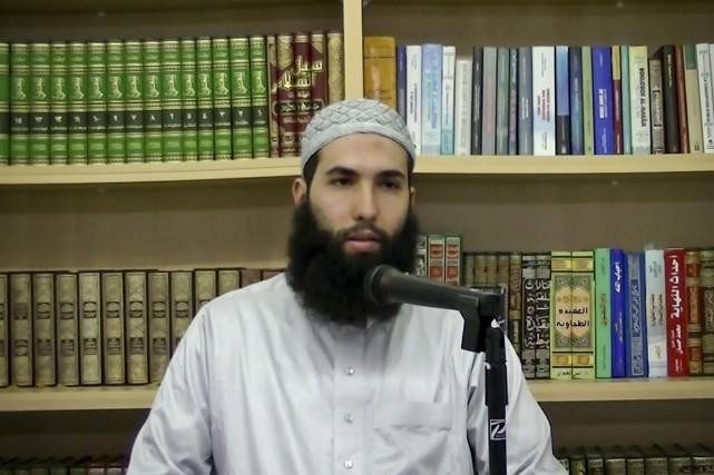 L'imam Hamza Chaoui veut enseigner au nouveau Centre... (IMAGE TIRÉE D'UNE VIDÉO YOUTUBE)