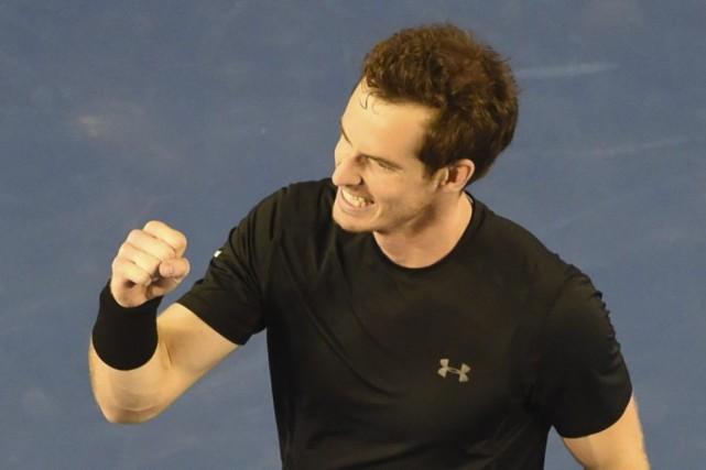 Andy Murray... (PHOTO MAL FAIRCLOUGH, AGENCE FRANCE-PRESSE)
