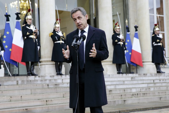 «Il (Sarkozy; ci-dessus) s'est laissé piéger par François... (PHOTO PHILIPPE WOJAZER, ARCHIVES REUTERS)