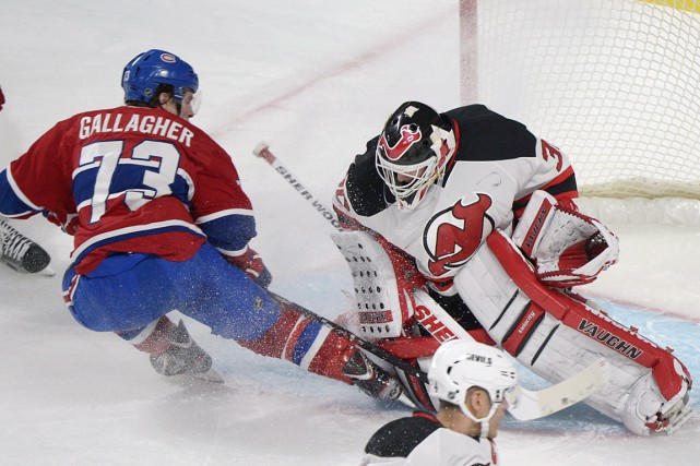 C'est le 27 janvier 2013 que Brendan Gallagher... (PHOTO GRAHAM HUGHES, ARCHIVES LA PRESSE CANADIENNE)
