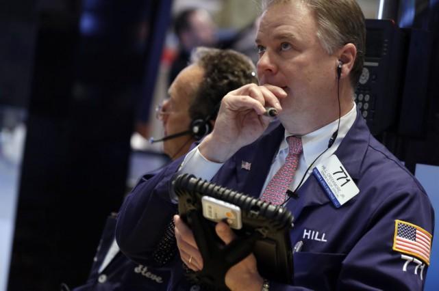 Sans certitude concernant les intentions de la Fed,... (PHOTO RICHARD DREW, AP)