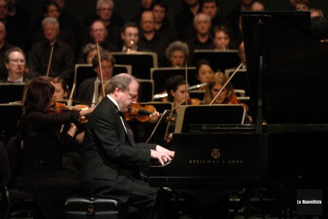 Le pianiste Marc-André Hamelin sera l'invité de l'OSTR... (Photo: François Gervais, Le Nouvelliste)