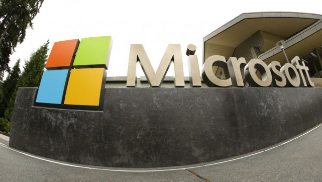 Microsoft, sous la conduite de son nouveau directeur... (Photo Ted S. Warren, archives AP)