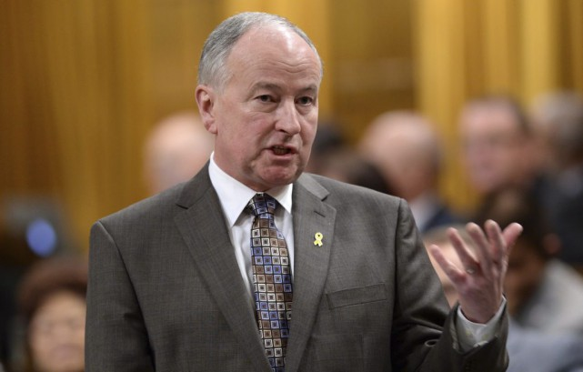 Rob Nicholson... (PHOTO SEAN KILPATRICK, LA PRESSE CANADIENNE)