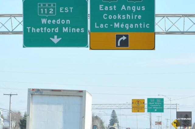 La Ville d'East Angus n'a pas renouvelé sa carte de membre de la Fédération... (Archives La Tribune, Maxime Picard)