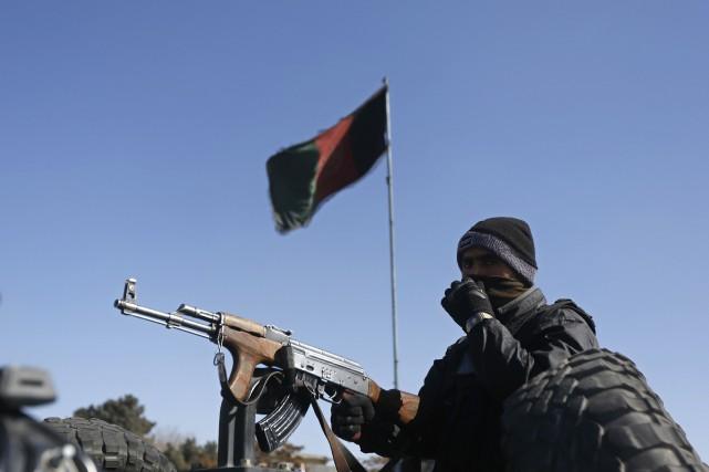 Trois Américains ont été tués jeudi à Kaboul (Afghanistan) par un membre des... (PHOTO OMAR SOBHANI, ARCHIVES REUTERS)