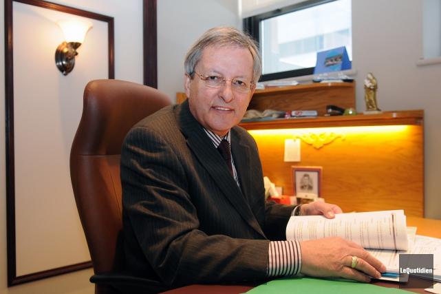 Le maire de la capitale régionale, Jean Tremblay.... (Archives Le Quotidien)