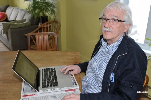 Le politologue et professeur retraité du Cégep de... ((Archives Le Quotidien))