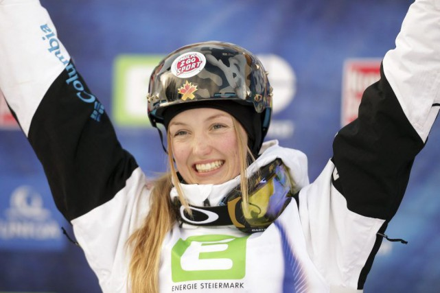 Justine Dufour-Lapointe... (PHOTO LISI NIESNER, ARCHIVES AFP)