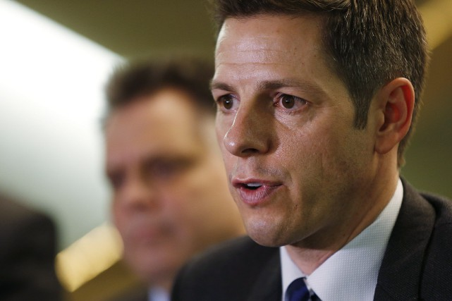 Le maire de Winnipeg, Brian Bowman... (PHOTO JOHN WOODS, LA PRESSE CANADIENNE)